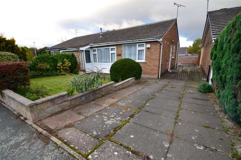 2 Bedrooms Semi Detached Bungalow for sale in Gladstone Street, Hathern,
