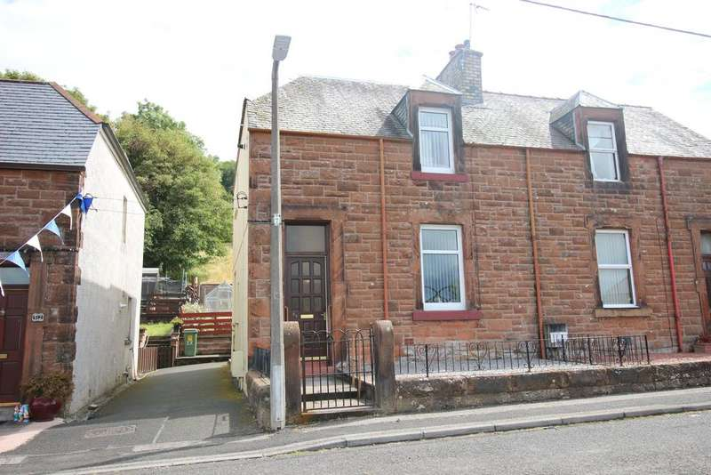2 Bedrooms Semi Detached House for sale in Park Place, Lockerbie DG11