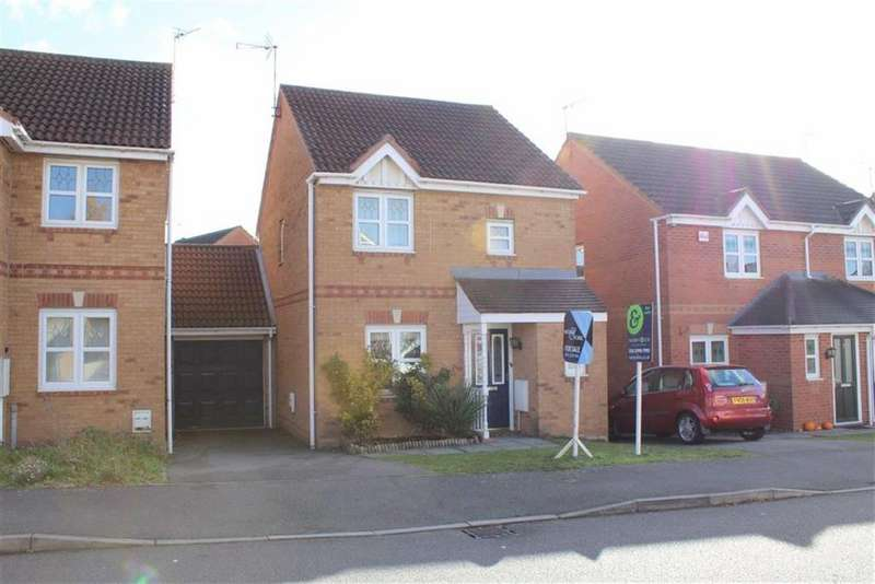3 Bedrooms Link Detached House for sale in Seaton Road, Thorpe Astley