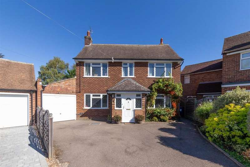 4 Bedrooms Detached House for sale in Newlands, Letchworth Garden City