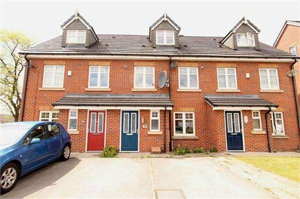 4 Bedrooms Town House for sale in Linnyshaw Close, BOLTON, BL3