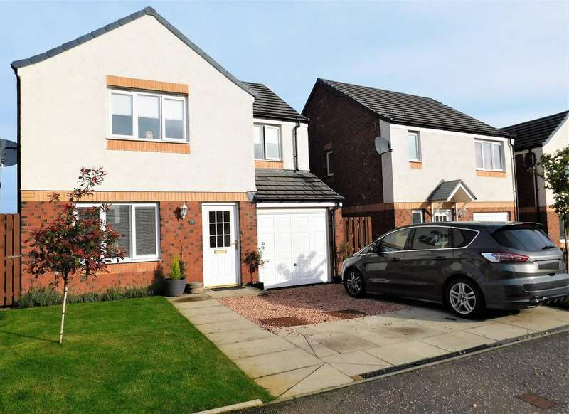 4 Bedrooms Detached House for sale in 3 Trinity Crescent, Kelty