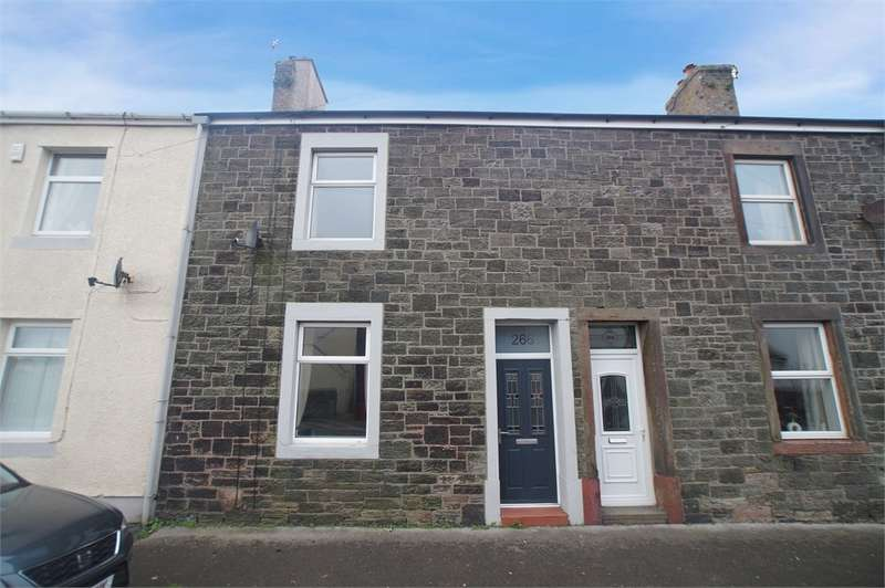 3 Bedrooms Terraced House for sale in CA28 9BB High Road, Kells, Whitehaven, Cumbria