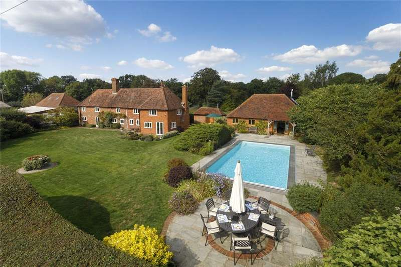 4 Bedrooms Detached House for sale in Crumps Lane, Ulcombe, Maidstone, Kent