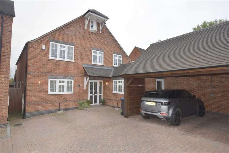 5 Bedrooms Detached House for sale in Britannia Road, Burbage, Leicestershire