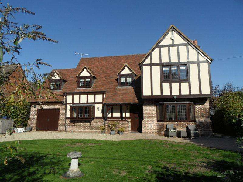 4 Bedrooms Detached House for sale in IBSTONE - four/five bedroom detached house. No onward chain
