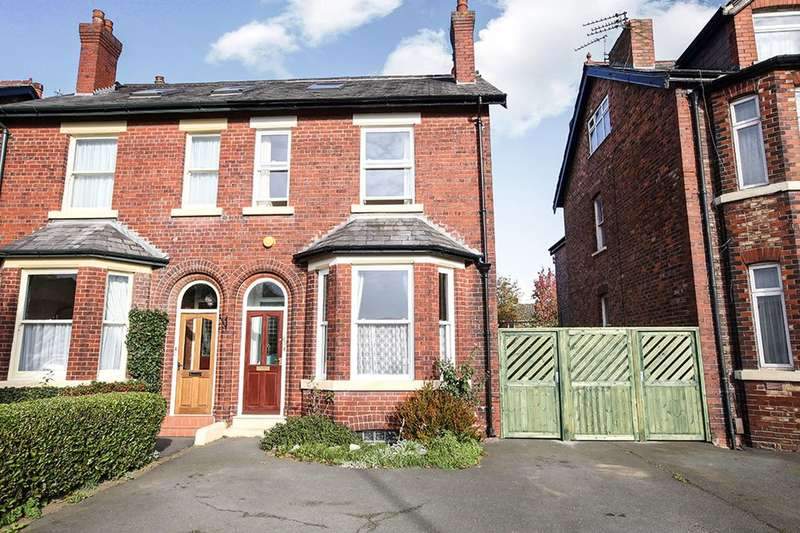 4 Bedrooms Semi Detached House for sale in Northenden Road, Gatley, Cheadle, SK8