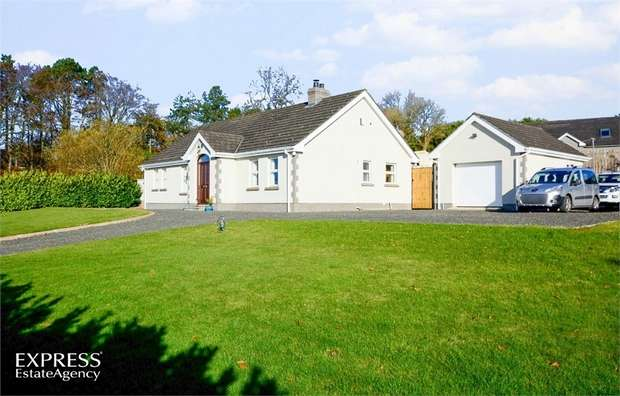 4 Bedrooms Detached Bungalow for sale in Tully Road, Dunnyvadden, Ballymena, County Antrim
