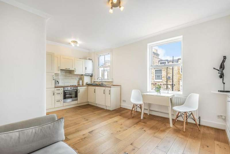 1 Bedroom Flat for sale in Crookham Road, Fulham