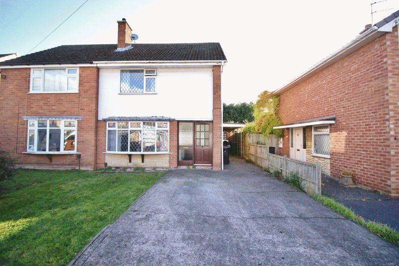 3 Bedrooms Semi Detached House for sale in Weston Road, Albrighton