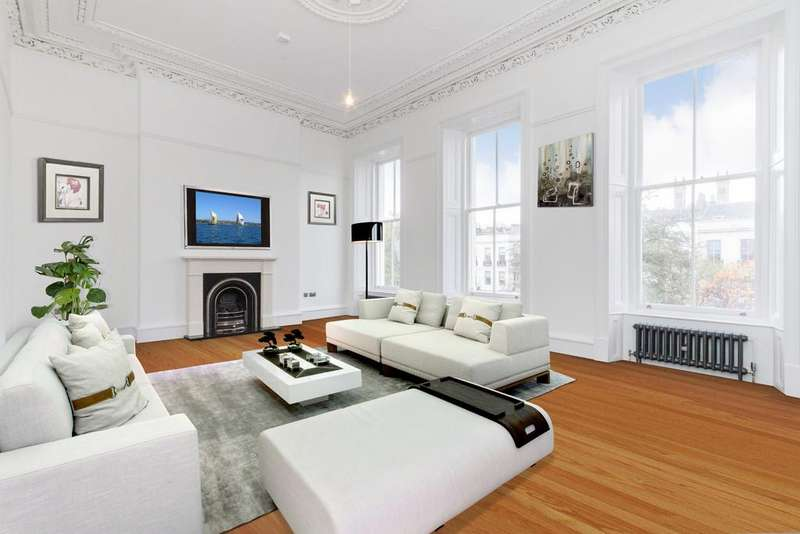 3 Bedrooms Town House for sale in MAIN DOOR, 6 Newton Terrace, Park, Glasgow,