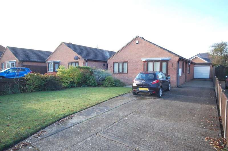 3 Bedrooms Detached Bungalow for sale in 57 Spire View Road, Louth, LN11 8SL