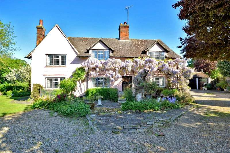 4 Bedrooms Detached House for sale in Church Street, Steeple Bumpstead, Nr Haverhill, Suffolk, CB9