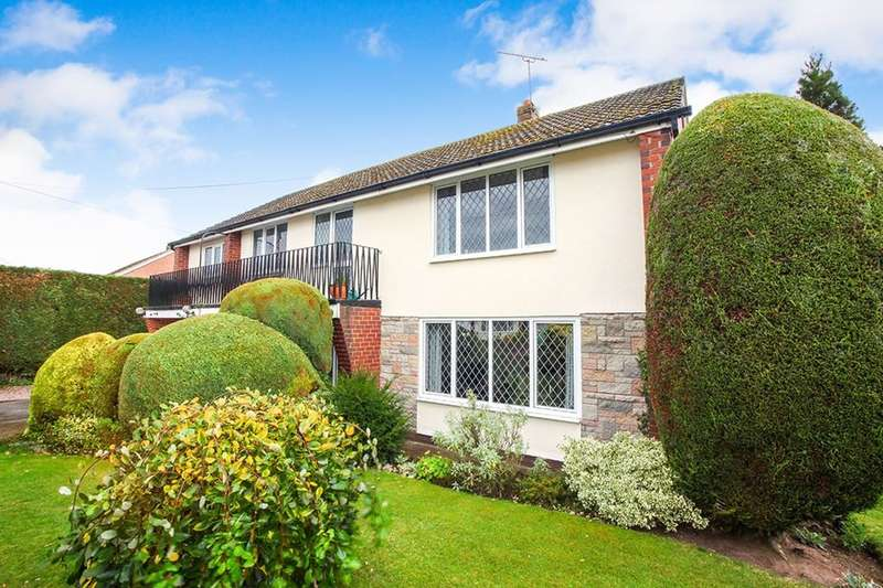 5 Bedrooms Detached House for sale in Drakes Way, Oathills, Malpas, SY14