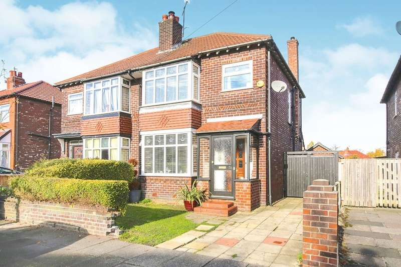 3 Bedrooms Semi Detached House for sale in Knypersley Avenue, Stockport, SK2