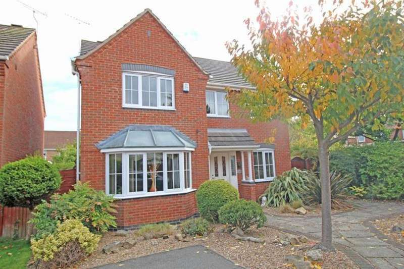 4 Bedrooms Detached House for sale in 11 Spruce Court, Worksop