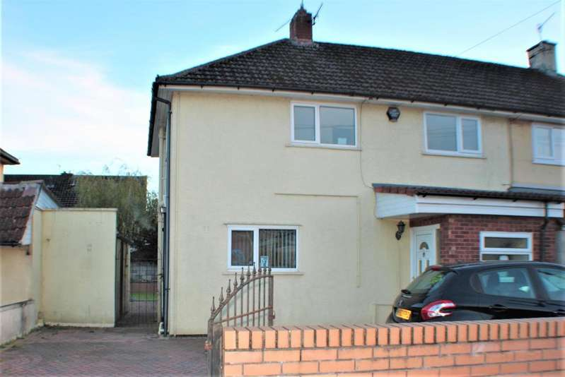 3 Bedrooms Semi Detached House for sale in Whitland Road, Hartcliffe, Bristol, BS13 9QG