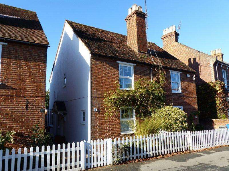 3 Bedrooms Semi Detached House for sale in Cookham Village - delightful three bedroom period semi-detached cottage
