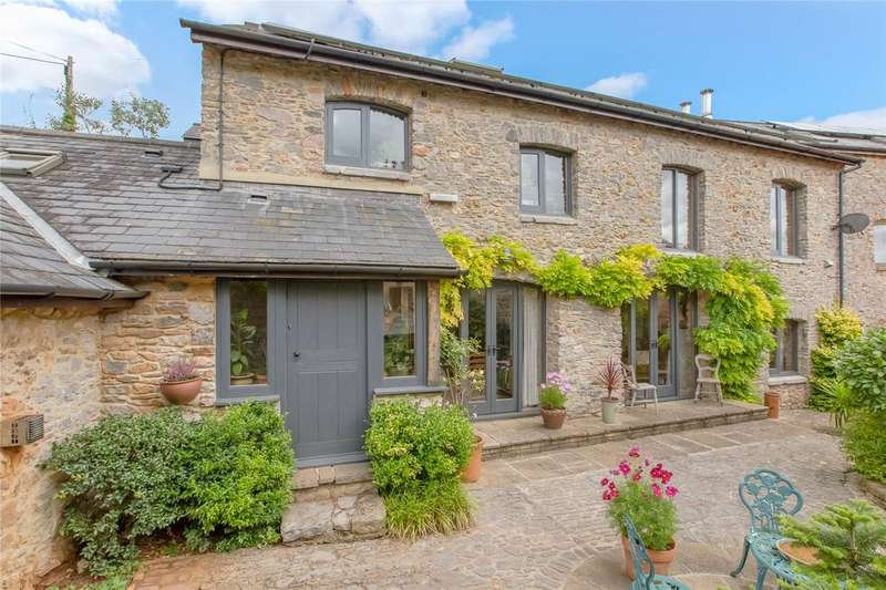 3 Bedrooms Barn Conversion Character Property for sale in Halwell Farm, Denbury, Newton Abbot, Devon, TQ12