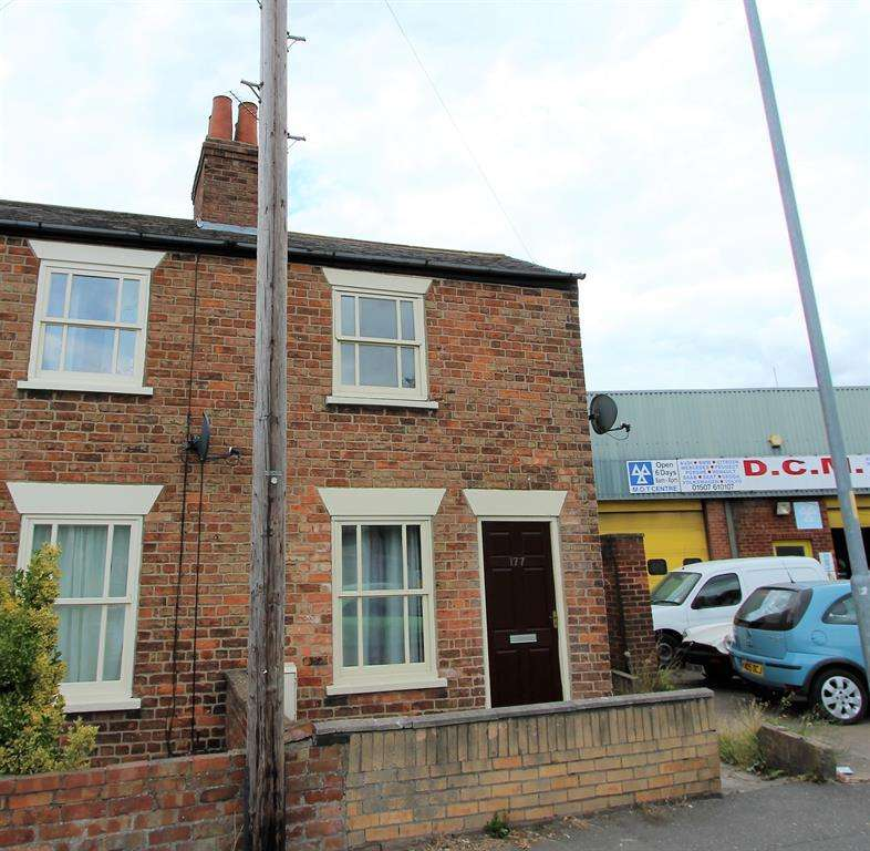 2 Bedrooms End Of Terrace House for sale in Newmarket, Louth, LN11 9EJ