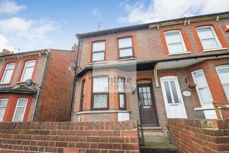 2 Bedrooms End Of Terrace House for sale in Oakley Road, Luton
