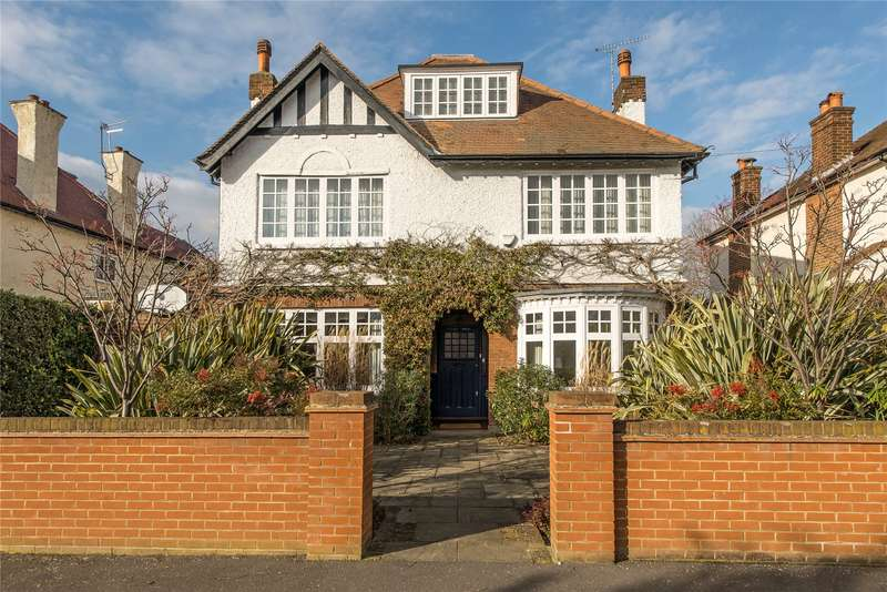 5 Bedrooms Detached House for sale in Lynton Road, Wimbledon, London, KT3