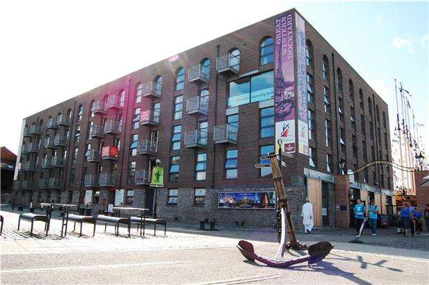 1 Bedroom Flat for sale in Steamship House, Gas Ferry Road, BRISTOL, BS1 6GL
