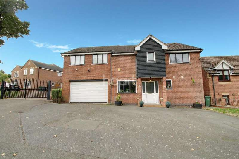 5 Bedrooms Detached House for sale in Gorse Hill, Anstey, Leicester