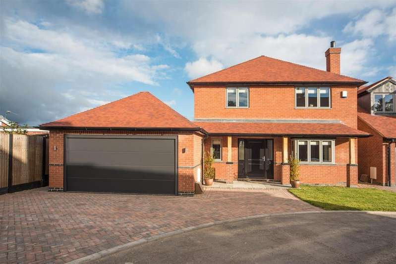 4 Bedrooms Detached House for sale in Arley Gardens, East Leake, Loughborough