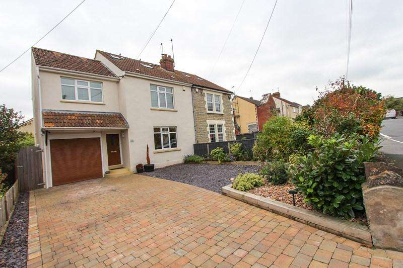 4 Bedrooms Semi Detached House for sale in Queens Road, Keynsham, Bristol