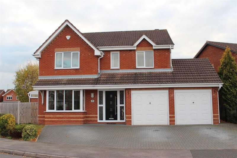 4 Bedrooms Detached House for sale in Washford Road, Hilton, Derby
