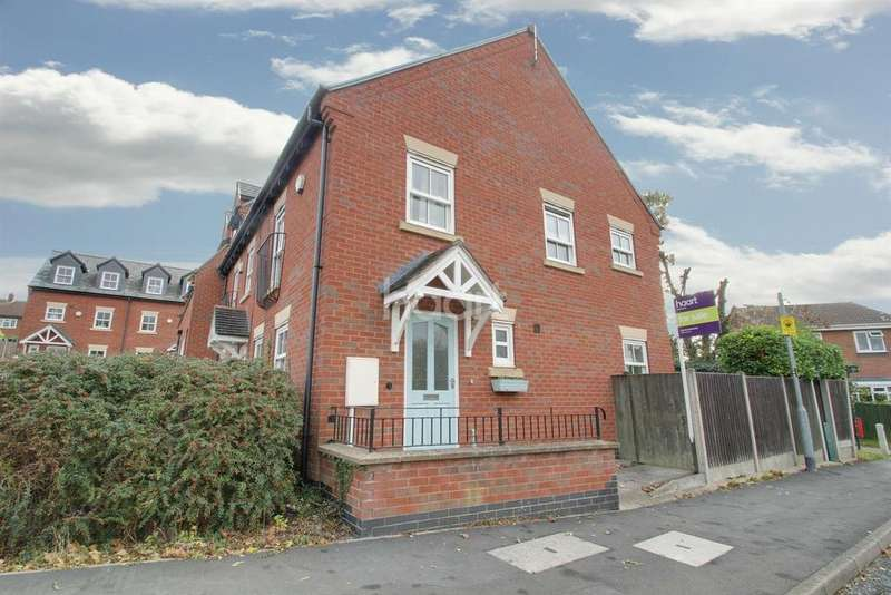 3 Bedrooms Semi Detached House for sale in Underwood Court, Glenfield, Leicester
