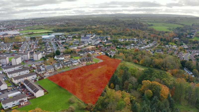 Land Commercial for sale in Millheugh Brae, Larkhall, South Lanarkshire, ML9 1AS