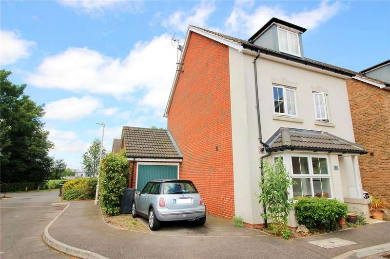 4 Bedrooms Link Detached House for sale in Cantium Place, Snodland, Kent, ME6