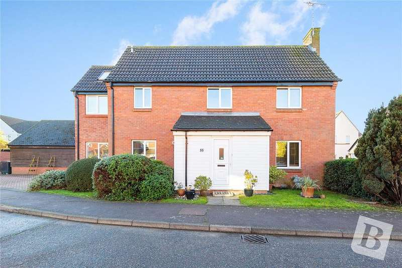 4 Bedrooms Detached House for sale in Abbotsleigh Road, South Woodham Ferrers, Essex, CM3