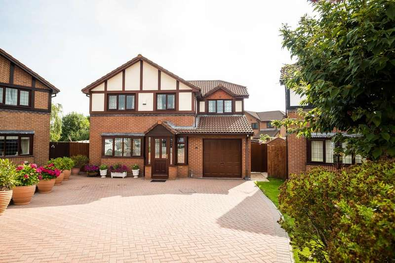 4 Bedrooms Detached House for sale in Gardd Eithin, Northop Hall