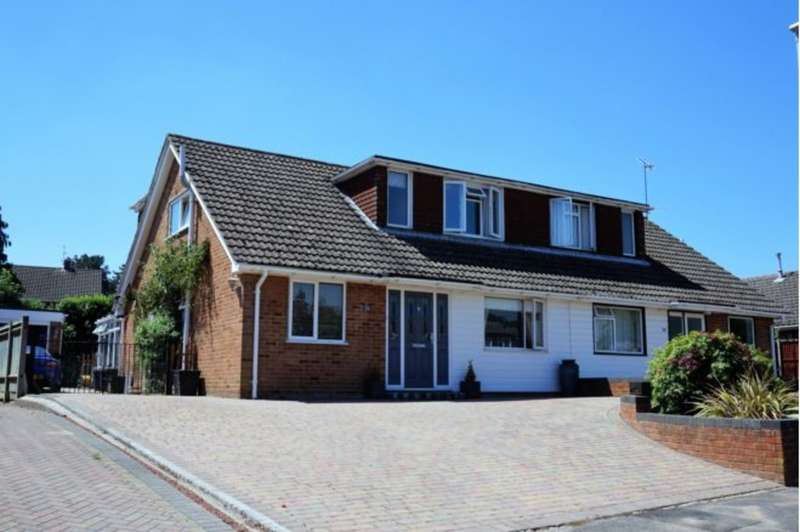 4 Bedrooms Semi Detached House for sale in Windmill Avenue, Wokingham RG41