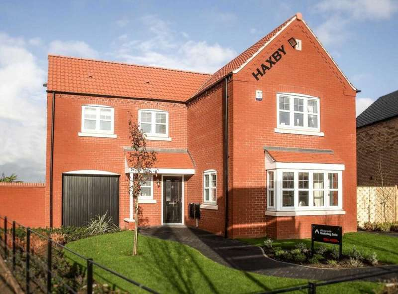 4 Bedrooms Detached House for sale in Plot 58, The Haxby, The Swale, Corringham Road DN21