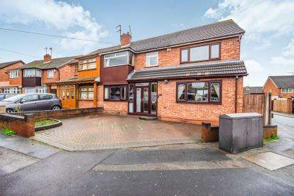 5 Bedrooms Semi Detached House for sale in Sandringham Avenue, Willenhall, West Midlands, Willenhall