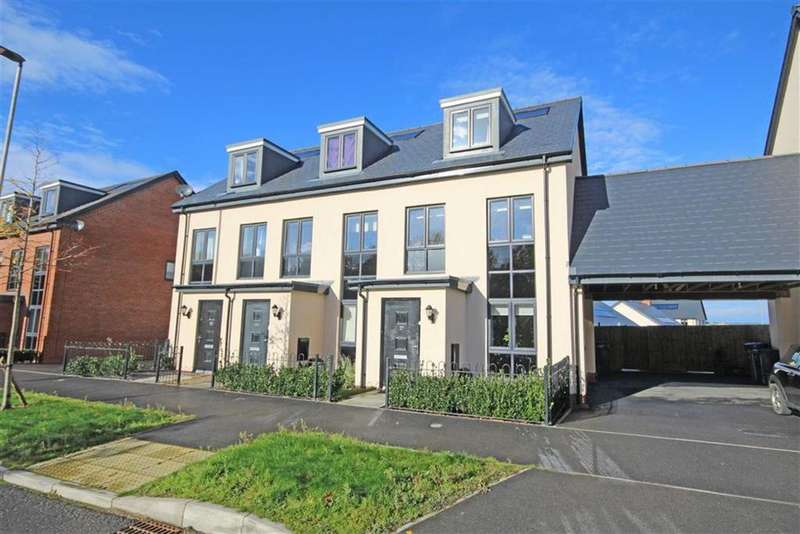 3 Bedrooms Semi Detached House for sale in Amber Road, Bishops Cleeve, Cheltenham, GL52