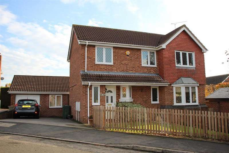 3 Bedrooms Detached House for sale in Chantry Close, Huncote, Leicester