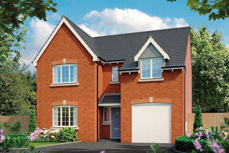 4 Bedrooms Detached House for sale in Plot 2, The Acacia, Oteley Road, Shrewsbury, SY2 6QS