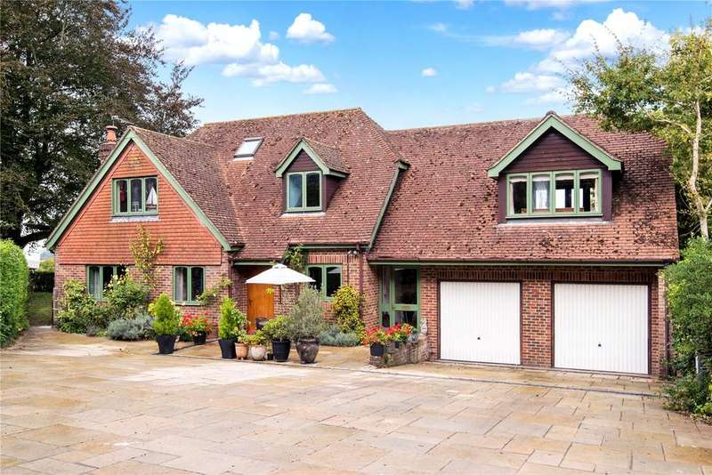 5 Bedrooms Detached House for sale in Goscombe Lane, Gundleton, Alresford, Hampshire, SO24
