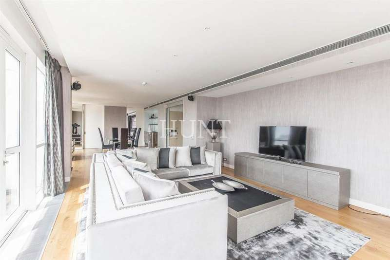 3 Bedrooms Penthouse Flat for sale in Westferry Road, Canary Wharf, London