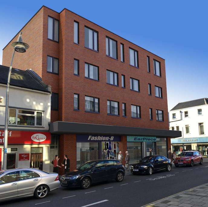 1 Bedroom Apartment Flat for sale in Flat 4 'Viking House', 2 Dane Street, Bedford, MK40