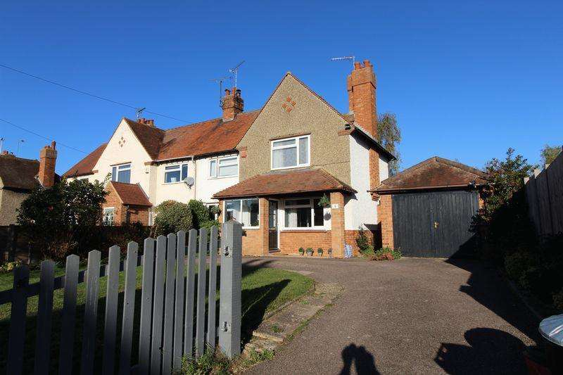 3 Bedrooms Semi Detached House for sale in Church Road, Sherington