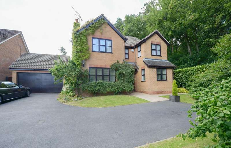 4 Bedrooms Detached House for sale in Sandstone Avenue, Walton, Chesterfield