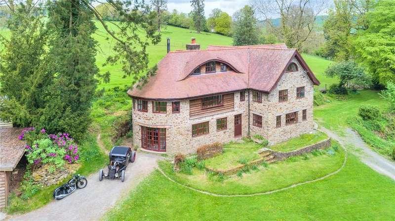 6 Bedrooms Detached House for sale in Warden Road, Presteigne, Powys