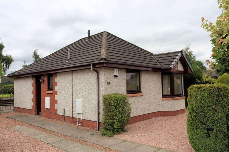 2 Bedrooms Detached Bungalow for sale in 57 Tay Avenue, Comrie PH6 2PF