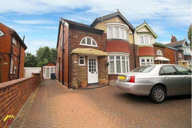 3 Bedrooms Semi Detached House for sale in Franklin Crescent, Doncaster, DN2 6AL